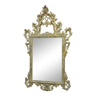 English Hand Carved Mirror