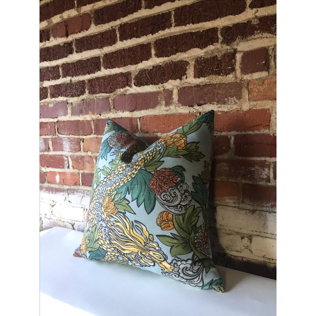 Ming Dragon Pillow Cover - Image 3 of 4