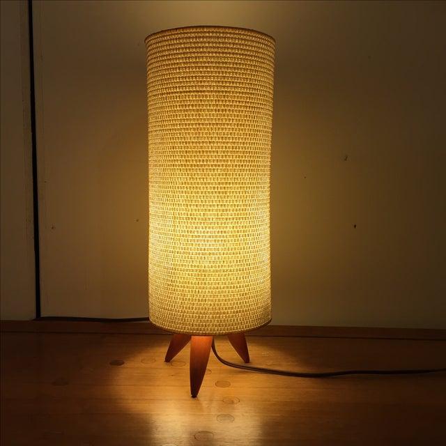Mid Century Danish Tripod Lamp - Image 3 of 11