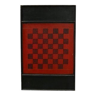 Antique Americana Chess & Checker Board For Sale