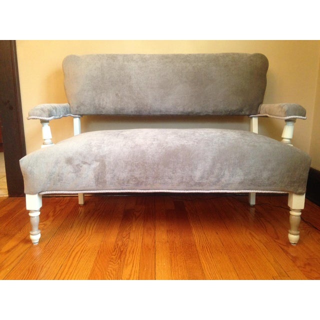 Newly Upholstered Settee - Image 2 of 8