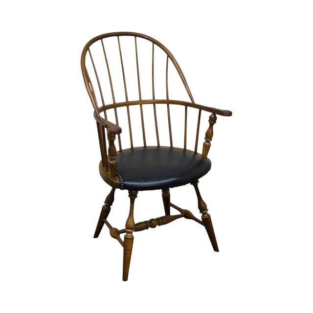 Frederick Duckloe Vintage Loop Back Arm Chair For Sale