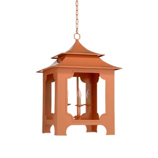 Chelsea House Inc Tole Pagoda Lantern For Sale