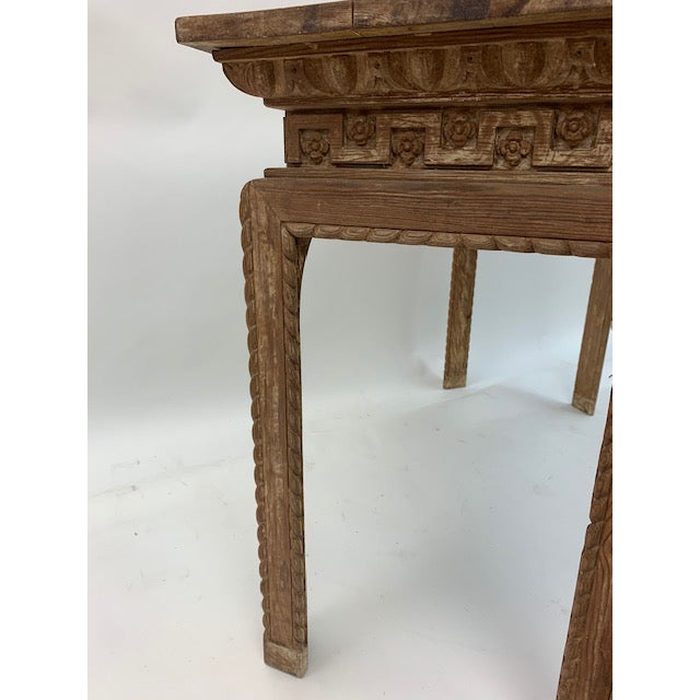 Vintage Italian Carved Console Tables - a Pair For Sale In Washington DC - Image 6 of 11