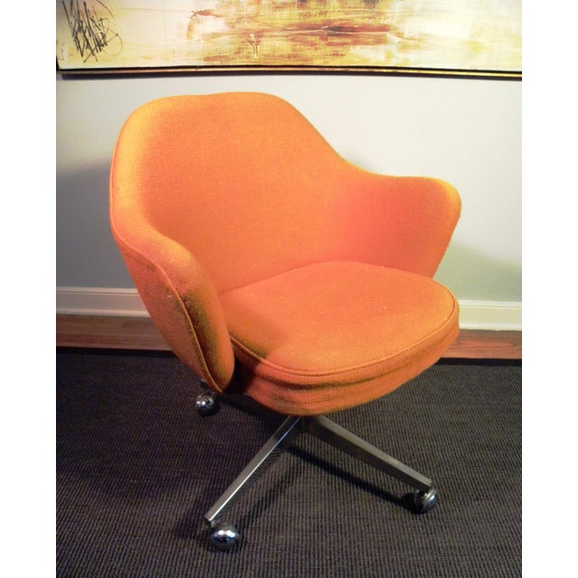 Vintage Knoll Mid-Century Office Chair - Image 3 of 6