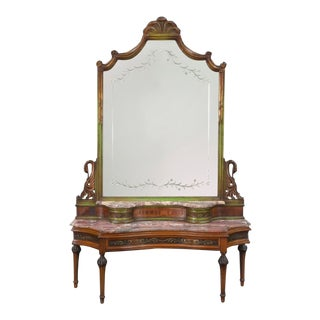 19th French Vanity or Entry Console For Sale