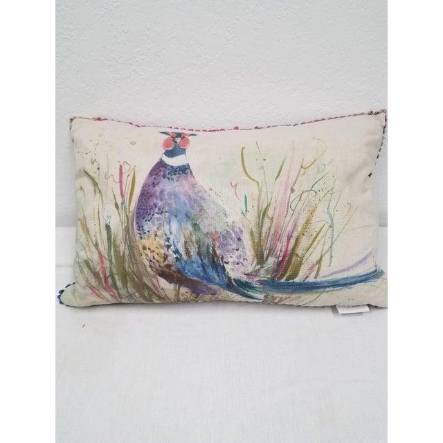 Game Bird Lumbar Pillow For Sale - Image 4 of 13