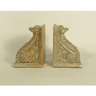 Vintage Mid Century Cornice Bookends - A Pair Preview