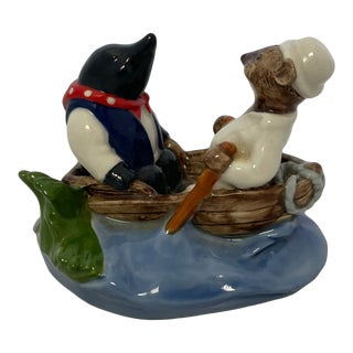 Vintage The Wind in the Willows Ceramic Figurine For Sale
