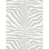 Image of Sample, Scalamandre Zebra, Zinc Fabric For Sale