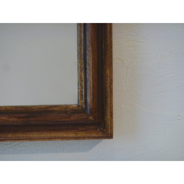 Italian Carved Wood Mirror - Image 5 of 5