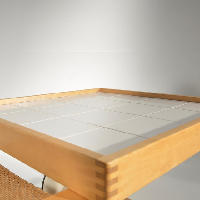 Alvar Aalto Alvar Aalto for Artek Tea Cart Model 900 For Sale - Image 4 of 13