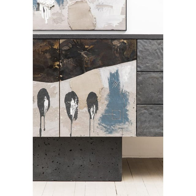Blue Console Diptych, Usa, 2019 For Sale - Image 8 of 12