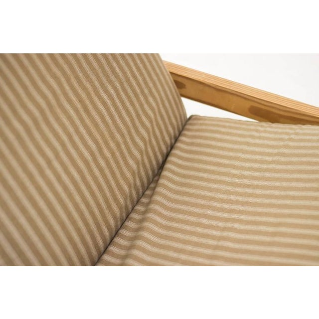 Animal Skin Scandinavian Architectural Lounge Chair For Sale - Image 7 of 8