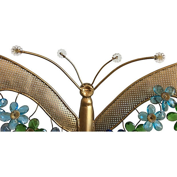 1950s 1950s Italian Butterfly Wall Light For Sale - Image 5 of 12