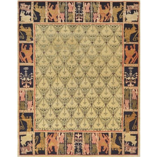 Mansour Original Handmade Tibetan Rug For Sale