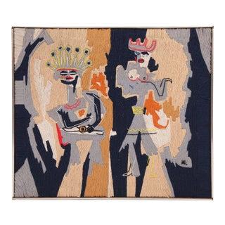 Harold Laynor Figural Yarn Art For Sale