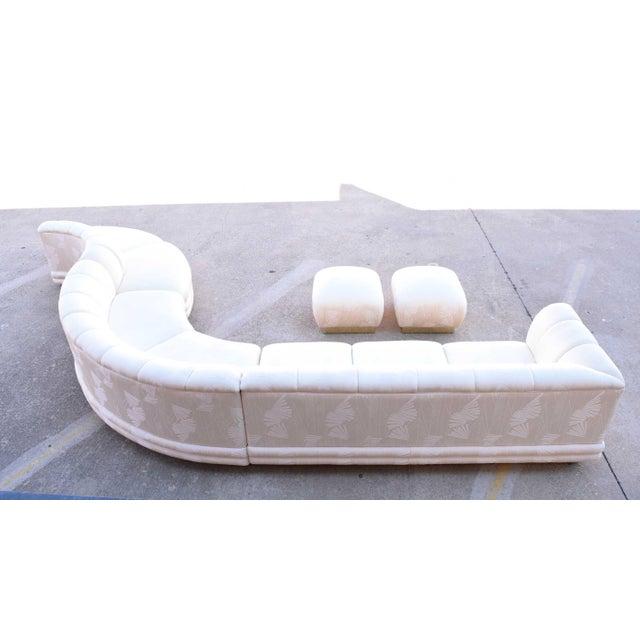 1970s Vladimir Kagan Serpentine Sofa For Sale - Image 9 of 10