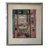 "Image of Vintage Matisse Print ""Open Window"" For Sale"