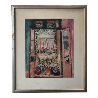 "Vintage Matisse Print ""Open Window"" For Sale"