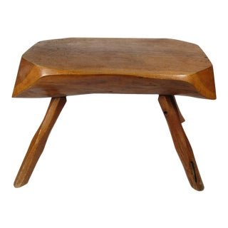 20th Century English Commemorative Mayflower Devon Oak Bench For Sale