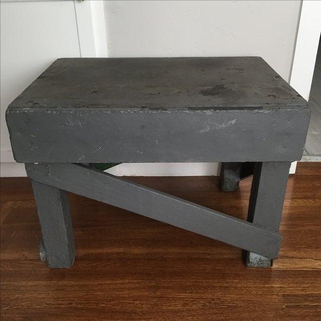 Vintage Distressed Farm Table - Image 2 of 8