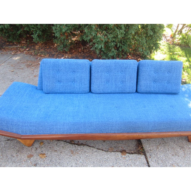 Textile Gorgeous Mid-Century Modern Adrian Pearsall Gondola Couch For Sale - Image 7 of 7