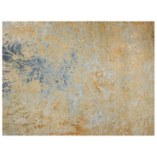 Stark Studio Rugs Contemporary New Oriental Wool Rug - 8′11″ × 11′10″ For Sale