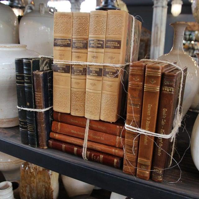 Vintage Leather Bound Book Bundle - Image 4 of 4