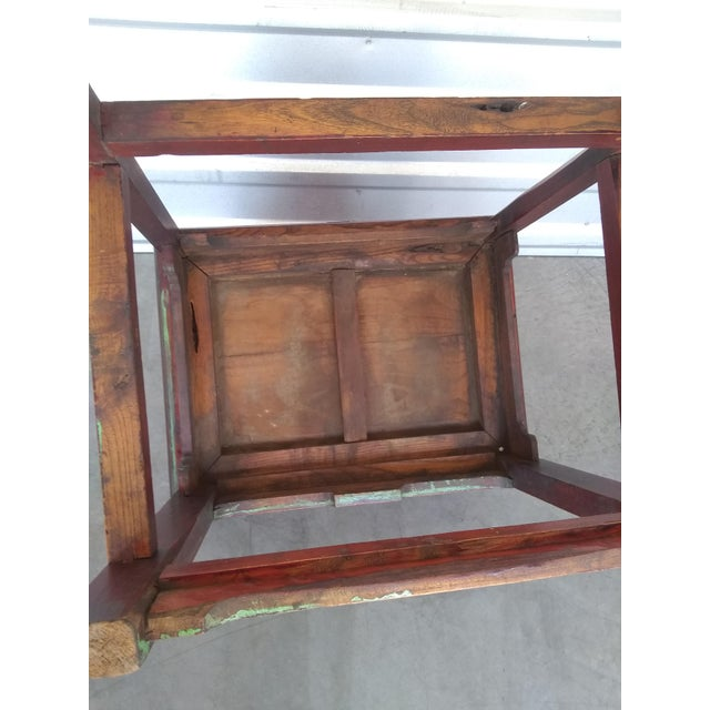 Late 19th Century Antique Chinese Officials Chair For Sale - Image 9 of 13