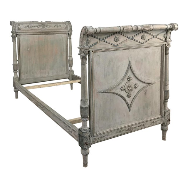 19th Century Painted Directoire Day Bed For Sale