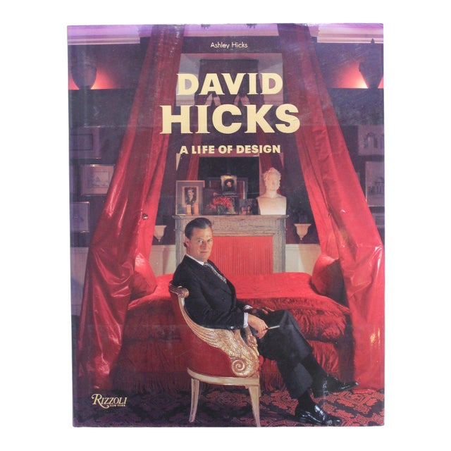 """""""David Hicks a Life of Design"""" Coffee Table Book For Sale - Image 9 of 10"""