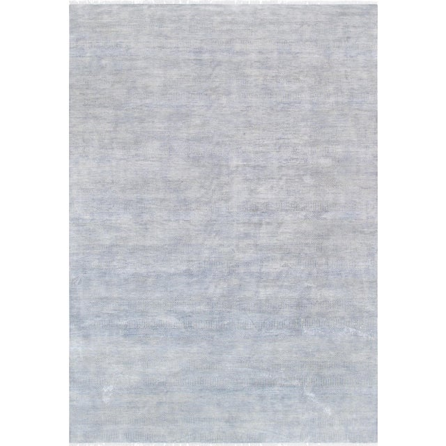 "Pasargad Transitional Silk & Wool Area Rug - 9'11"" X 14' 5"" - Image 1 of 3"