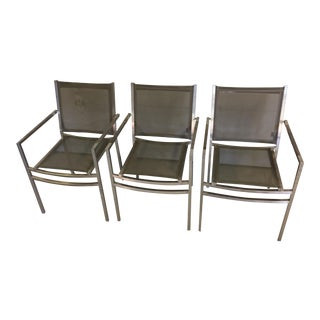 Mesh Steel Mamagreen Chairs - Set of 3