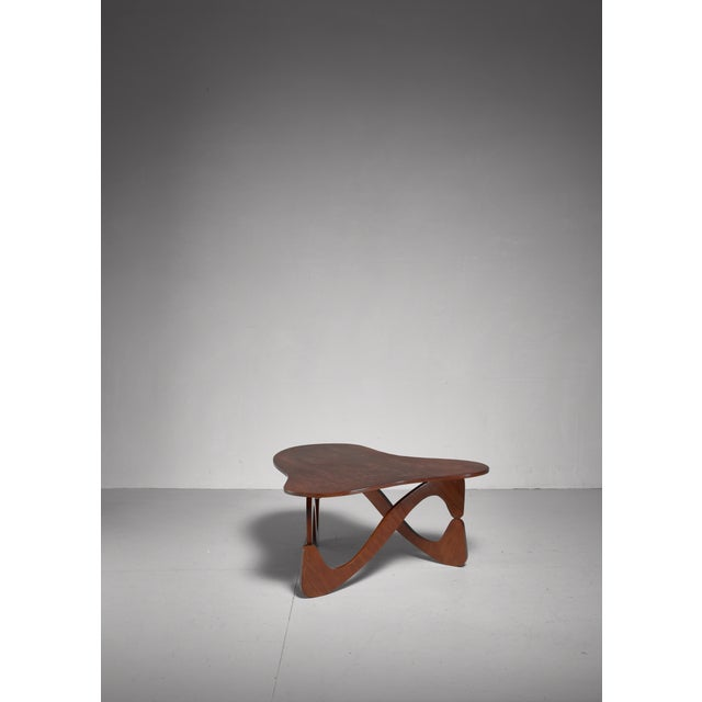 Mid-Century Modern José Zanine Caldas Coffee Table, Brazil For Sale - Image 3 of 6
