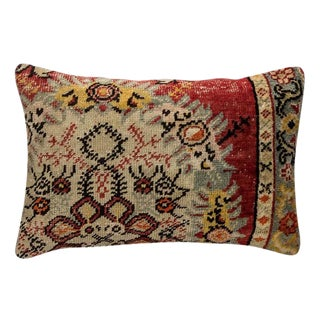 60 Year Old Vintage Moroccan Accent Pillow For Sale