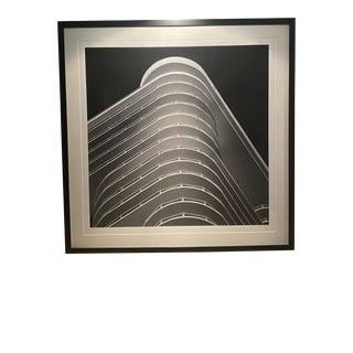 Contemporary Architectural Black and White Photograph by Luca Artioli, Framed For Sale