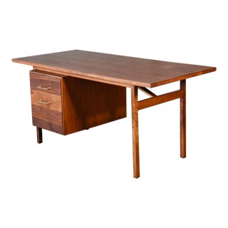 Walnut Desk by Jens Risom