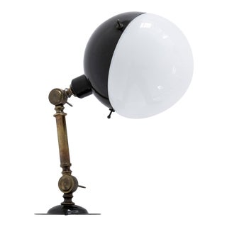 Mid-Century Style Italian Rounded Black Extension Arm Sconce For Sale