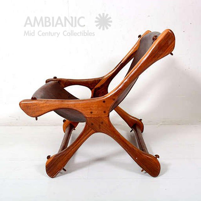 Sling Chair Attributed to Don Shoemaker For Sale In San Diego - Image 6 of 11