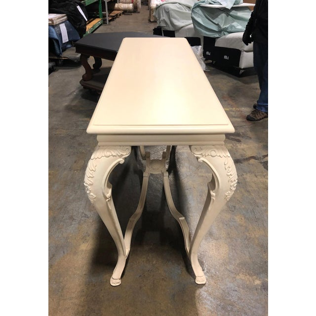 Neoclassical George Sand Console Table For Sale - Image 4 of 11