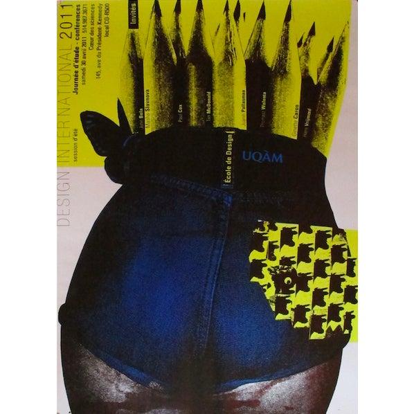 Contemporary 2011 Original Design International Session D'été Poster - Alfred Halasa For Sale - Image 3 of 3