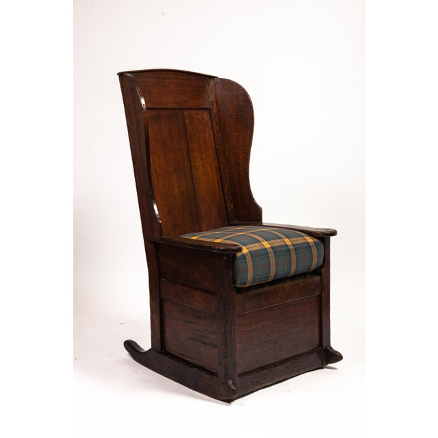 18th-Century English Planked Rocker For Sale - Image 4 of 4