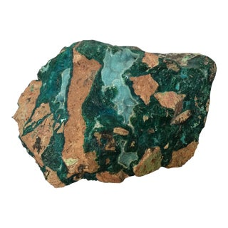 Chrysacola Druzy Mineral Specimen