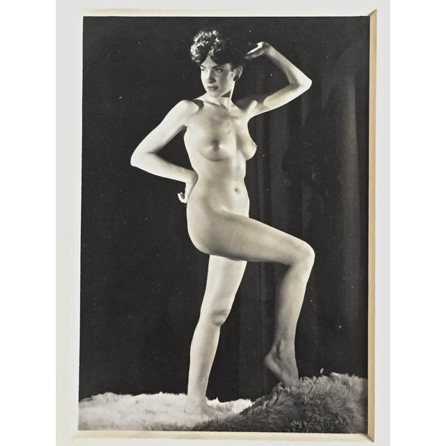Mid-Century 1950s Nude Female Photograph - Image 4 of 4