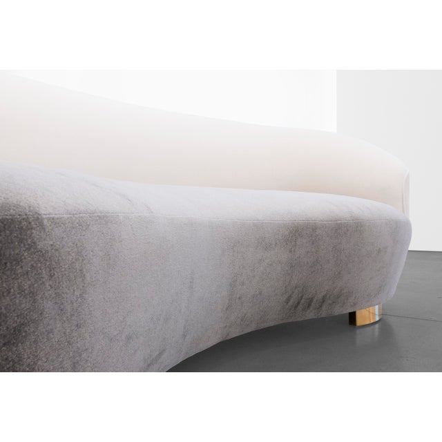"1970s Vladimir Kagan, ""Cloud"" Sofa C. 1970 - 1979 For Sale - Image 5 of 9"