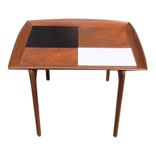 1950s Vintage Mid-Century Modern Italian Gio Ponti Style Side Table For Sale