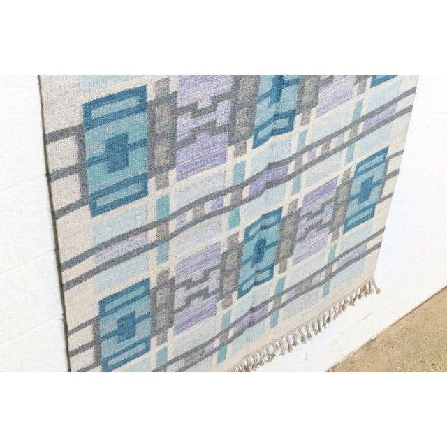 Scandinavian Modern Judith Johansson Tapestry Rug - 4'5'' X 6'8'' For Sale - Image 9 of 11