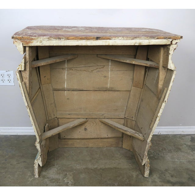 19th Century Italian Painted Altar Table For Sale - Image 9 of 10