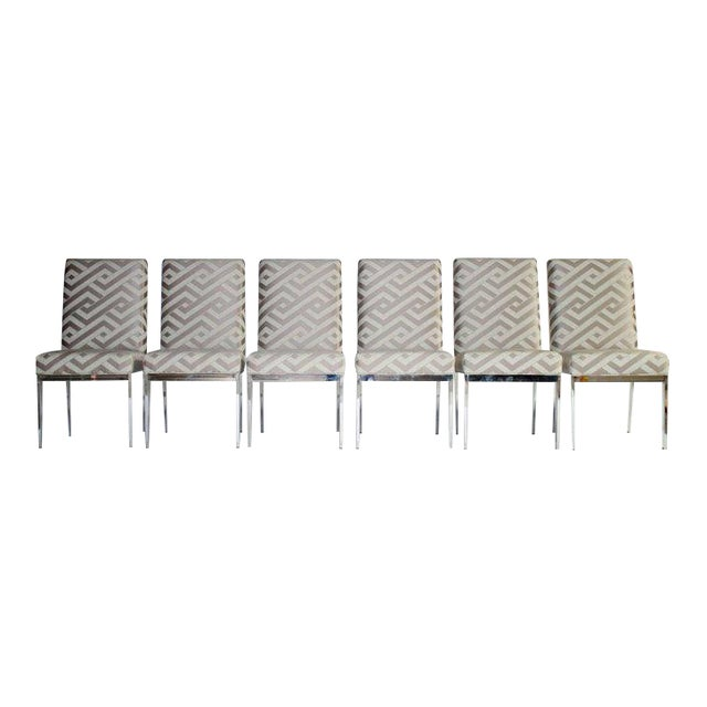 Milo Baughman Design Institute of America Dining Chairs - Set of Six For Sale